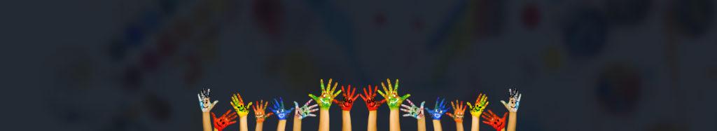 Pomalowane dłonie