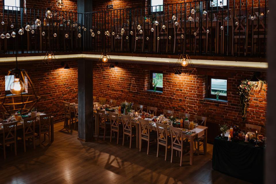 piękna sala weselna